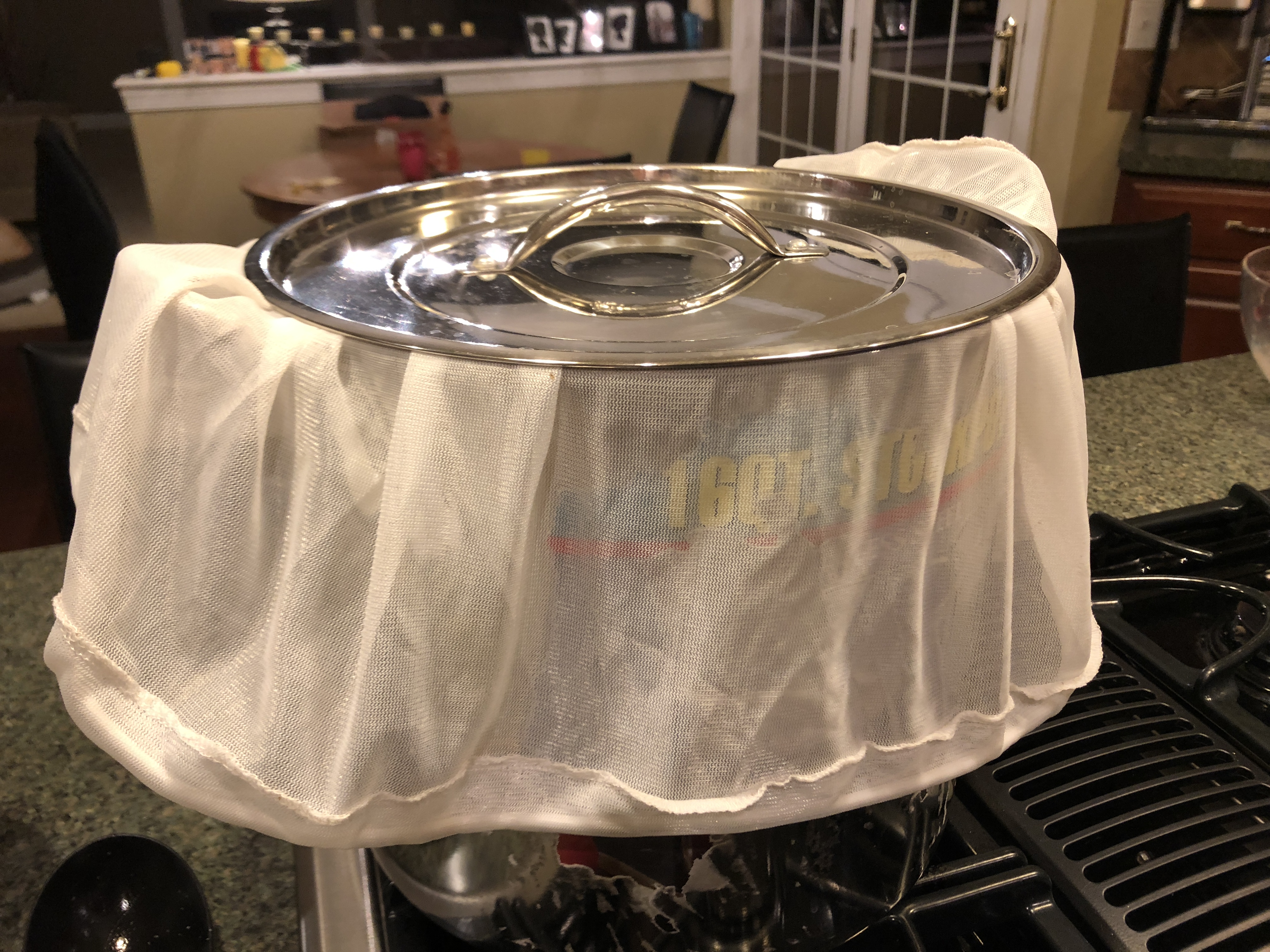 1 Gallon BIAB Process For My BrewGround – BrewGinner