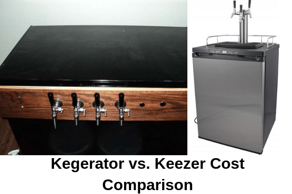 kegerator vs keezer cost comparison